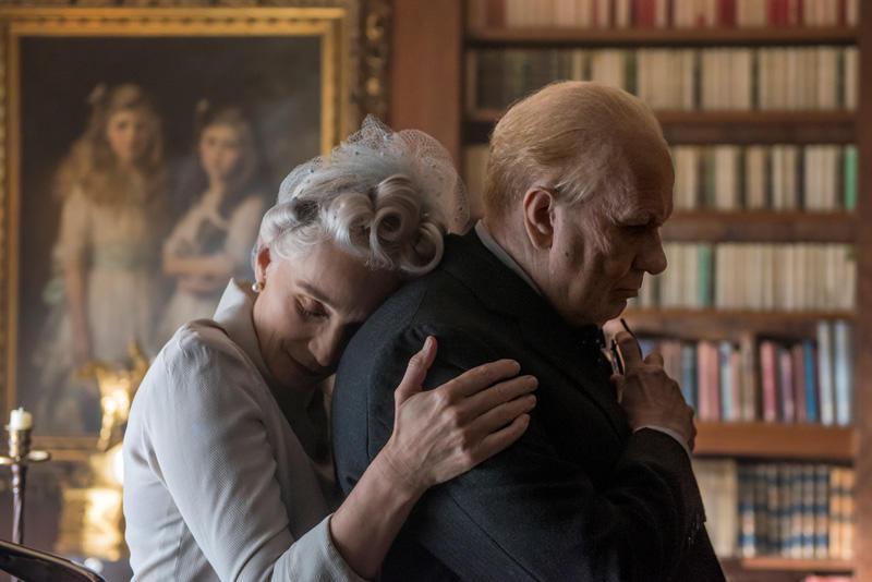 Gary Oldman und Kristin Scott Thomas in Die dunkelste Stunde / Darkest Hour